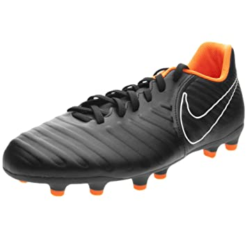 sale retailer 1160f fdfdc Nike Tiempo Legend 7 Club FG Soccer Cleats (10, Black Orange)