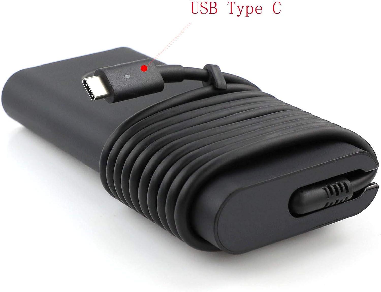 Dell 130W USB-C/USB Type C Replacement AC Adapter for Precision 5530 2in1,XPS 15 2in1 9575, DP/N 0M0H25/M0H25, 0K00F5/K00F5,Model DA130PM170,HA130PM170