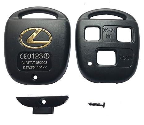 Amazon.com: Carcasa de repuesto para llave de control remoto ...