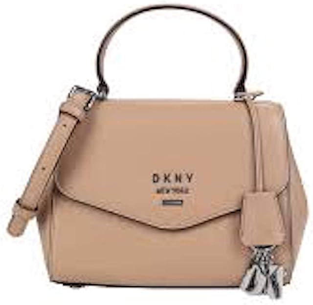 DKNY Paige Top Handle Satchel beige: : Schuhe