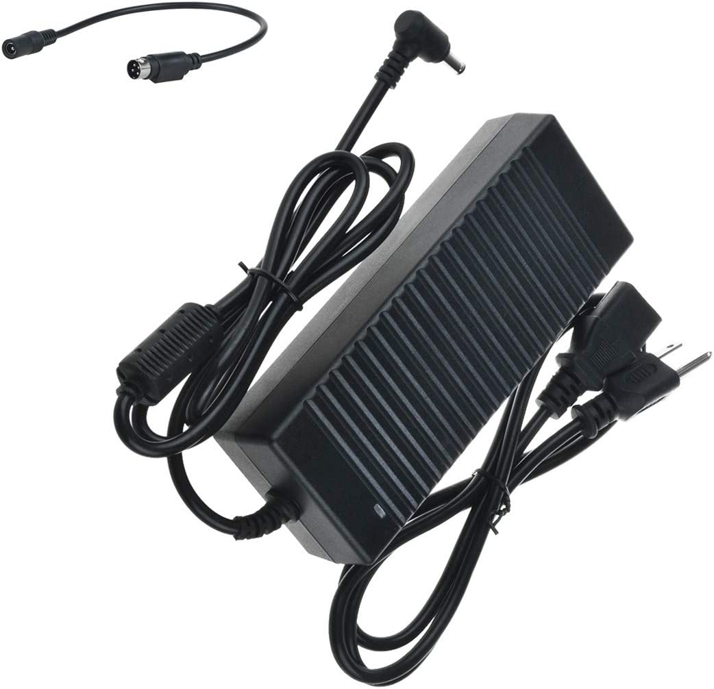 Model STD-24050 Power Supply Cord Cable PS Charger 4 Prong Mains PSU SLLEA 4-Pin Din AC//DC Adapter for Adapter TECH