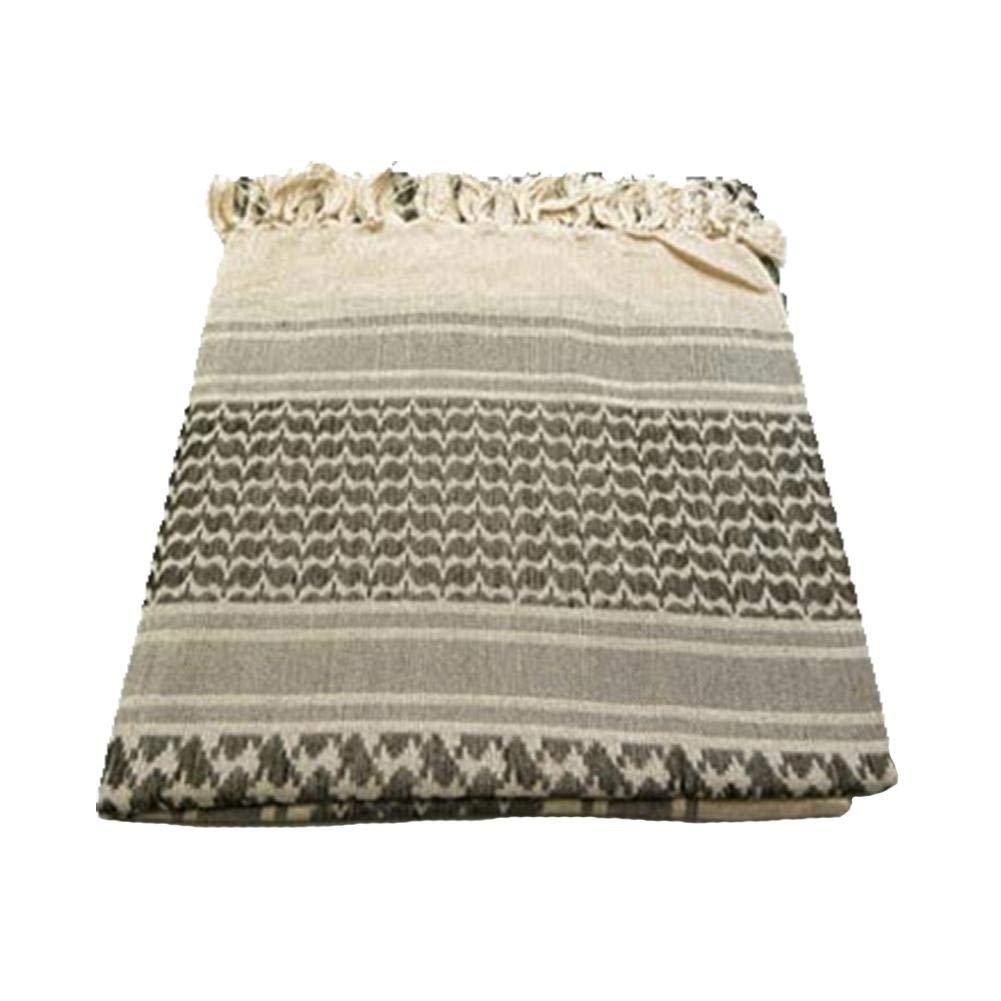 Sciarpa Storagc ispessito sciarpa tattica Stile arabo asciugamano quadrato caldo Inverno a prova di freddo Turbante cotone deserto sciarpa testa Shemagh tattico Desert Keffiyeh sciarpa avvolgere