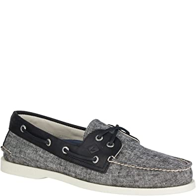 Men's Leeward Boat Shoe Linen 7.5 M