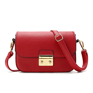 Amazon.com  YLY Womens Purses And Handbags Ladies Designer Satchel Tote Bag  Red Shoulder Bags (Color   Red 058cb5cfced64