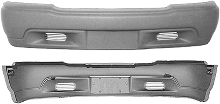 Front Bumper Cover For 1995-1997 GMC Jimmy Primed Plastic