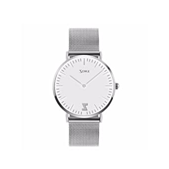 2dbf31ba1955 ZEMGE 36 mm caso ultra delgado mujeres relojes cuarzo analógico resistente  al agua reloj de pulsera unisex Business Casual simple diseño clásico DW  estilo ...