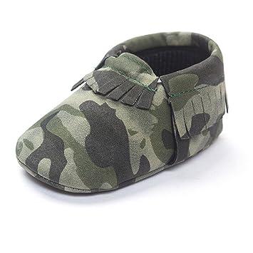 Xinantime Zapatos Bebé, Zapatillas de Deporte Suaves del Niño Pequeña Zapato Camuflaje (17): Amazon.es: Hogar