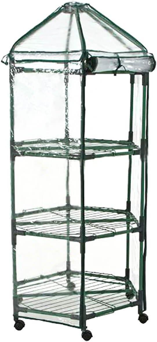 Gardiun KR55126 - Invernadero Leaf III 70x50x160 cm: Amazon.es: Jardín