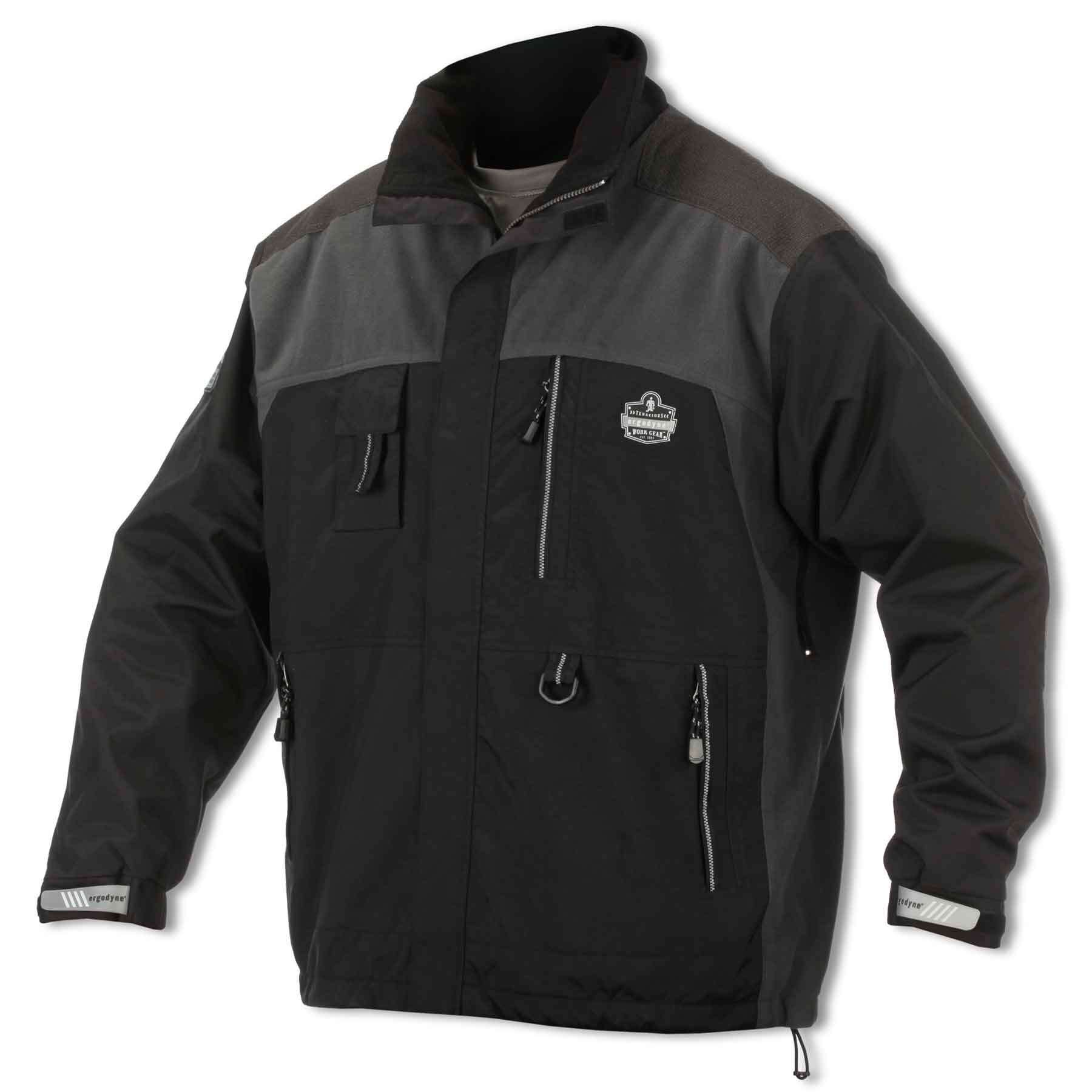 N-Ferno 6465 Men's Outer Layer Thermal Jacket with Armortex Reinforcement in Heavy Wear Zones, X-Large by Ergodyne (Image #1)