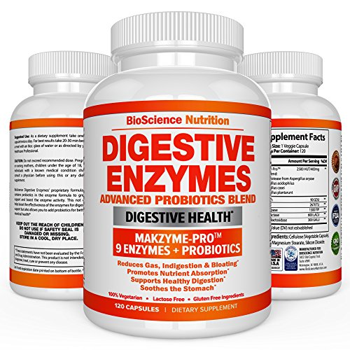 Digestive Enzymes with Probiotics - MULT…