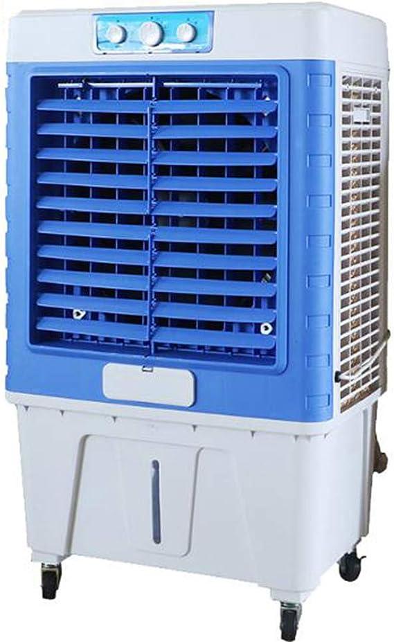 Y Lengf Portable Air Freshener Mini Air Cooler Air Cooler Air Cooling Fan Air Conditioner 3 Power Level 7 Mood Light Office Küche Haushalt