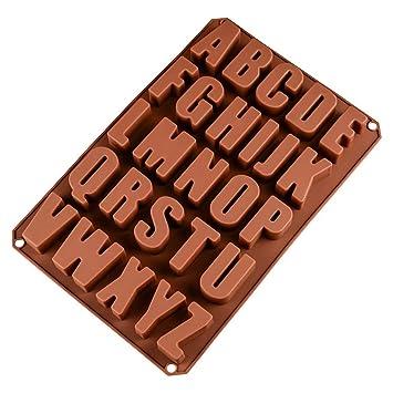 Pulison Molde de Silicona para Chocolate, Hacer Galletas, Dulces, Cubitos de Hielo,