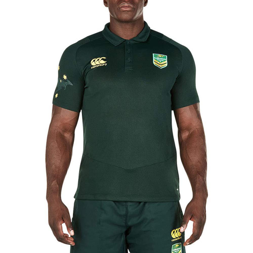 Australia Kangaroos Rugby Pro Dry Polo 2017: Amazon.es: Deportes y ...