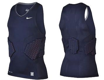 Nike Pro Combat Men's Large Dri Fit Compression Basketball Padded Tank Shirt