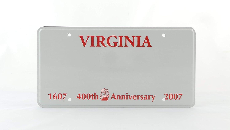 License Plates Shop Kretschmer Virginia EE Placa de matr/ícula Placa de matr/ícula en Relieve Personalizado UU