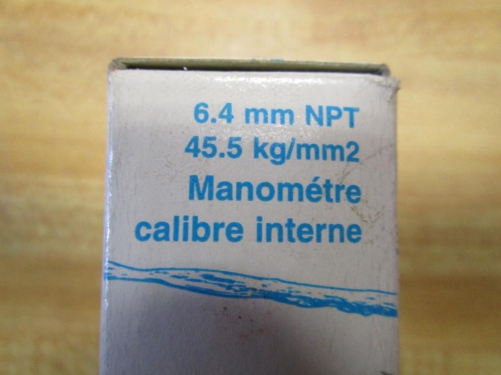 ProPlumber 1//4 NPT 100 PSI Pressure Gauge 64124