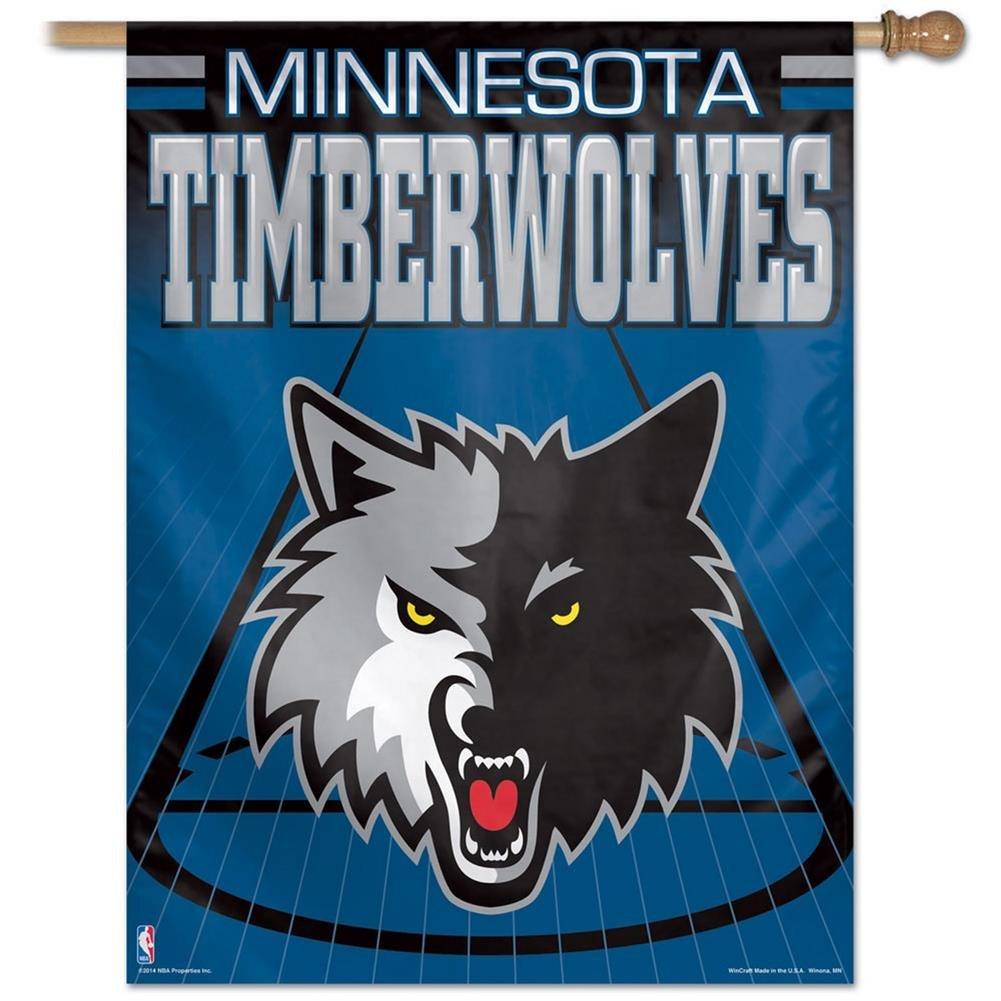 WinCraft Minnesota Timberwolves Basketball NBA Fahne 90 x 70 cm