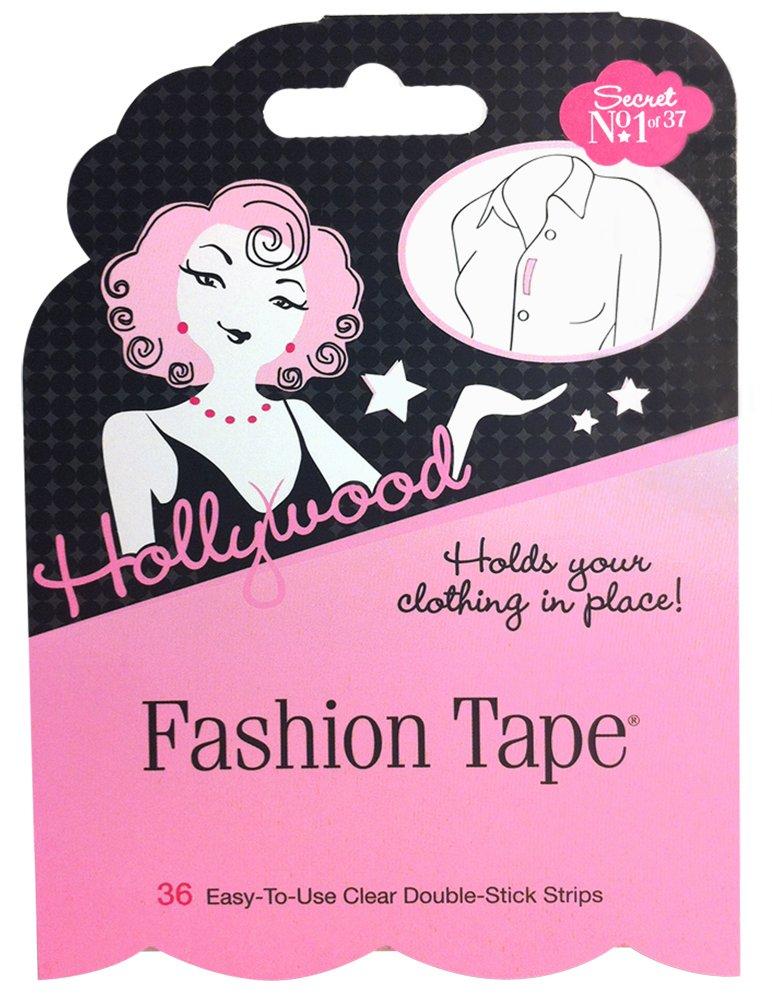 Hollywood Fashion Secrets Fashion Tape Flat Pack, 36 strips