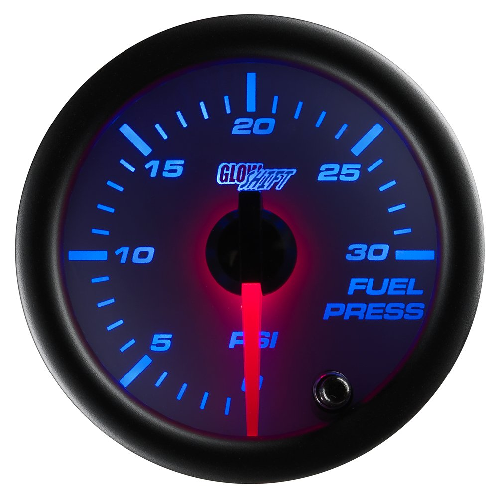61zUj%2BQNPiL._SL1000_ amazon com glowshift white 7 color 30 psi fuel pressure gauge  at couponss.co