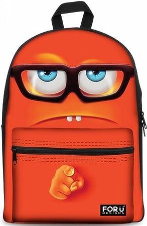 U Backpacks Drôle Décontractée À Sac 3d Dos For Designs Daypacks b76gyfYv
