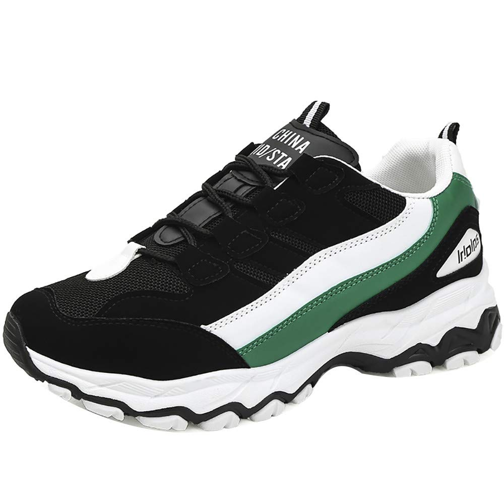 Men Lace-up Mesh Shoes Outdoor Sports Shoes Casual Shoes Tide Shoes Old Shoes