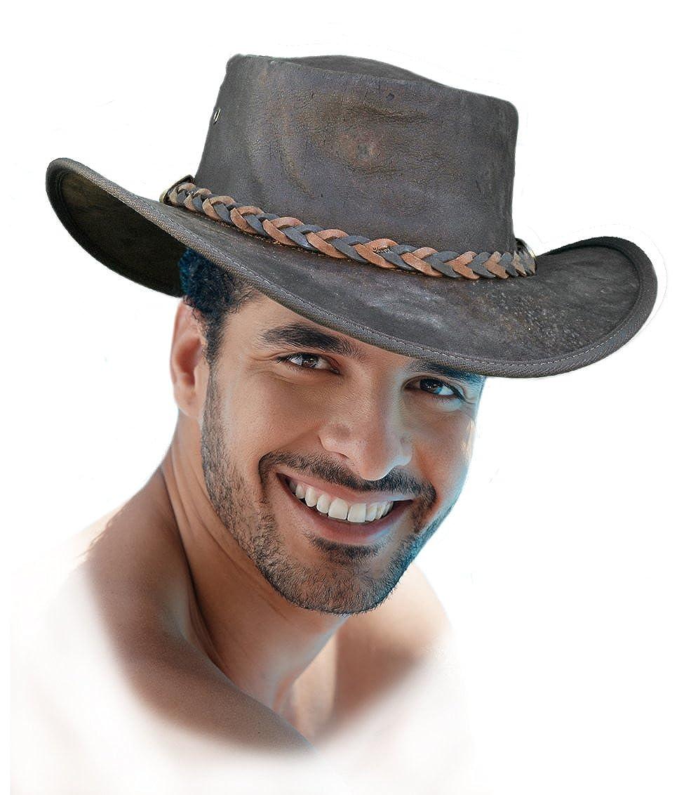 Barmah - Sombrero plegable blando de canguro e2bbfc970a3