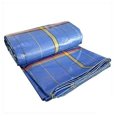 NAN Tissu de pluie Bâche Voiture plus épaisse Tissu de protection solaire imperméable Tissu à l'huile Tissu extérieur de protection contre la pluie Toile de protection solaire (taille optionn