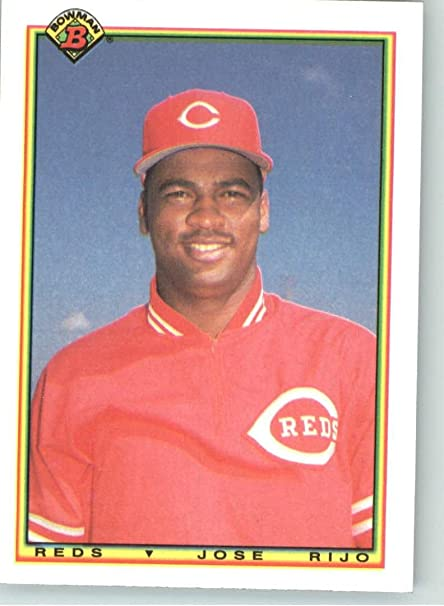 1990 Bowman 45 Jose Rijo Cincinnati Reds Baseball Cards