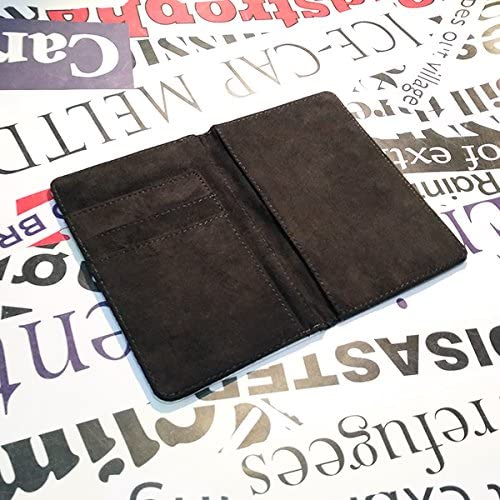 beatChong Homme Serbie Nom Drapeau Pays Passeport Porte-Wallet Voyage Cover Bourse Card Case 3,7 Pouces x 5,8 Pouces Multicolore