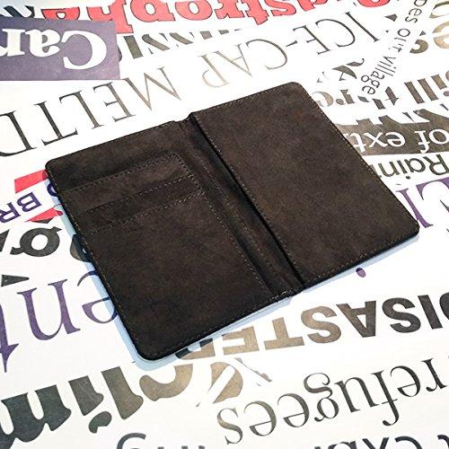 beatChong Homme Suisse Nom Drapeau Pays Passeport Titulaire Portefeuille Voyage Couverture Bourse Card Case 3,7 Pouces x 5,8 Pouces Multicolore
