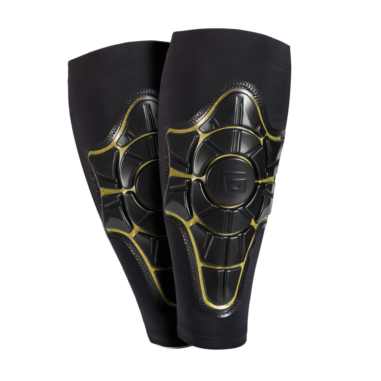 G-Form Pro-X Shin Guard, Black/Yellow, Small