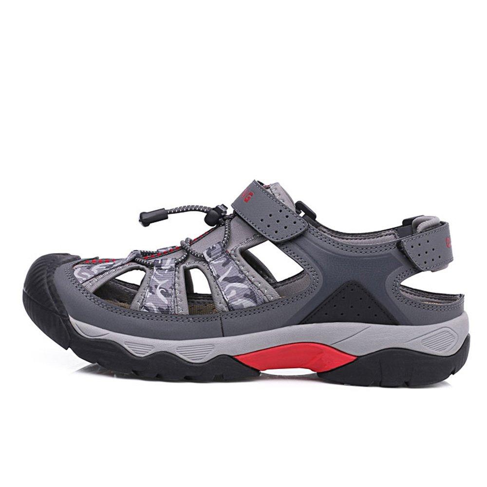 Herren Outdoor-Schuhe Outdoor-Schuhe Outdoor-Schuhe Strand Sandalen Grau 46cfad