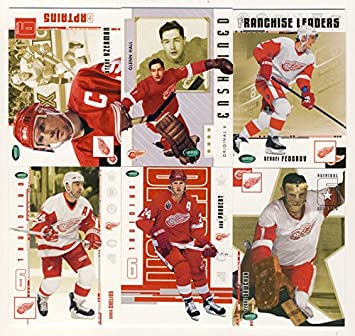 Amazon.com  2003-04 Parkhurst Original Six Hockey Detroit Red Wings  100-Card Set  Sports Collectibles 3abcf2522
