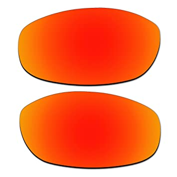 bcc3e9c3fae Image Unavailable. aCompatible Replacement Fire Red Polarized Lenses For Oakley  Tightrope Sunglasses