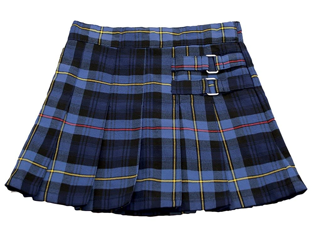 Girls French Toast Plaid Two-Tab Scooter School Uniform