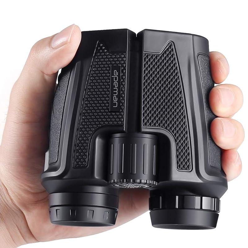 APEMAN 쌍안경 폴로식 12배 오름 배율 고성능 12×25 6.5° 접는 콤팩트 눈(째)가 피곤해져 어려운 방진 버드워칭 방수 경량 콘서트에 최적 스포츠 관전 등산 스트랩