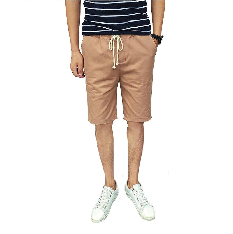 8b6af035e2 Winwinus Men Cotton Lounge Silm Cotton Casual Sport Pants Shorts low-cost