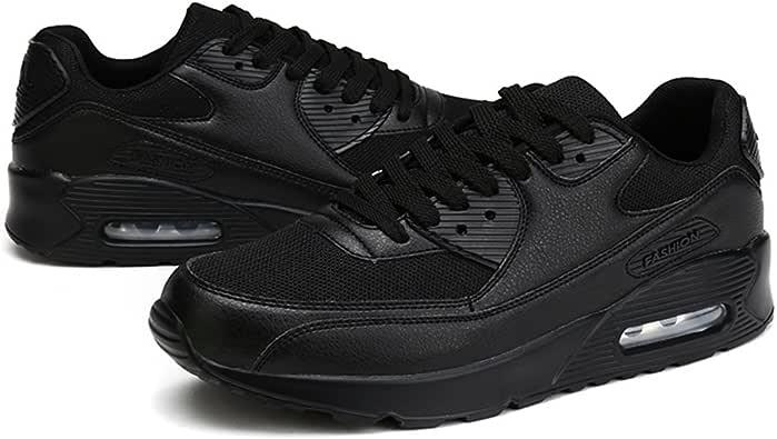 Young & Ming Unisex-Adulto Zapatillas Gimnasio Walking Zapatillas Fitness Deportes de Ligero Zapatillas de Running(Negro,45 EU): Amazon.es: Zapatos y complementos