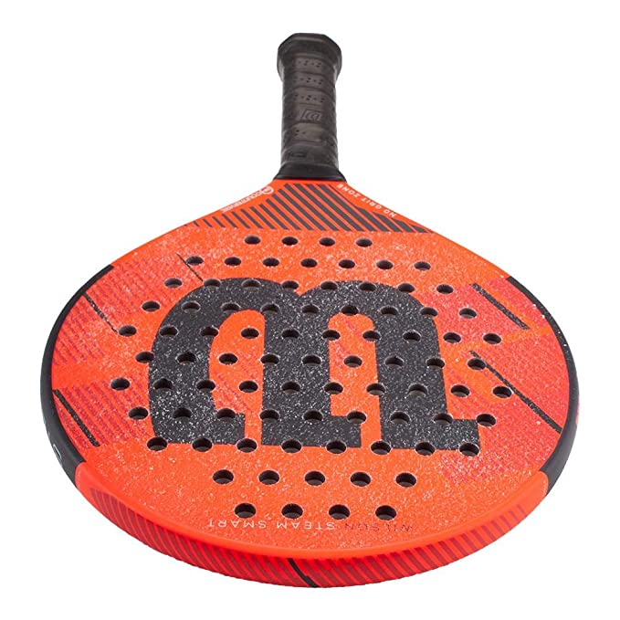 Amazon.com : Wilson Steam Smart Countervail Platform Tennis Paddle : Sports & Outdoors