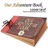 Our Adventure Book Scrapbook Photo Album Handmade