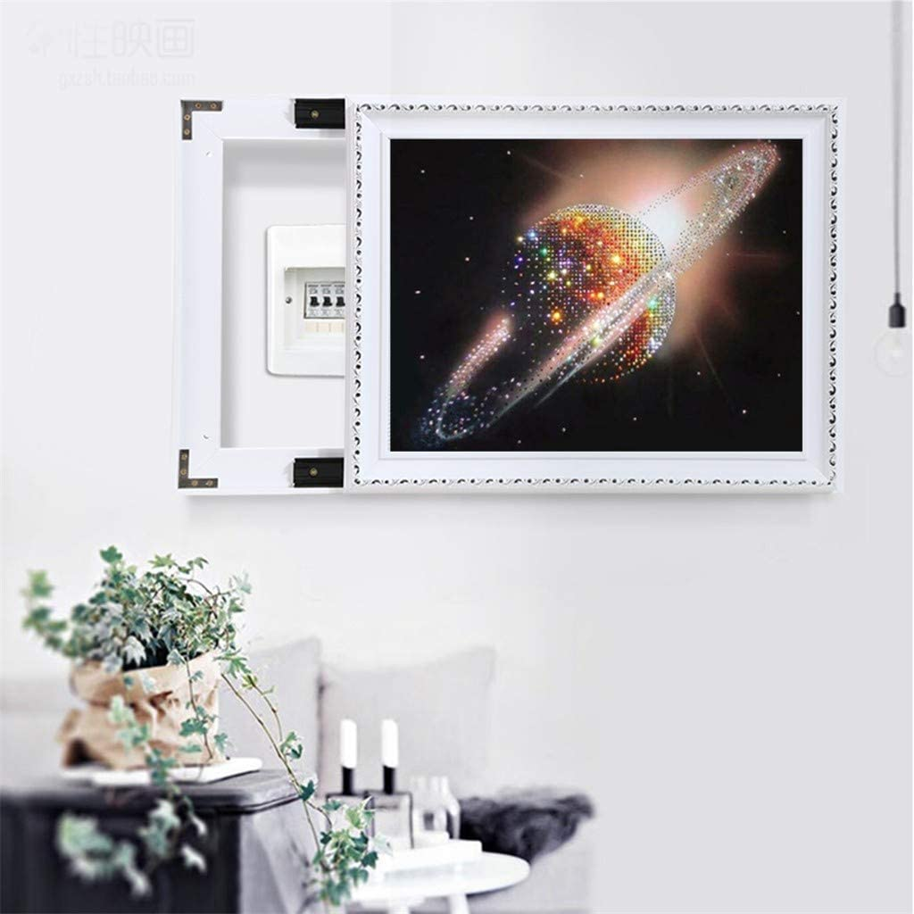 DIY 5D Full Drill Diamond Embroidery Dotz Kit Home Bedroom Wall Decor Cross Stitch Beach and Planet C for Kids and Adults Make Your Own Artwork Diamond Painting