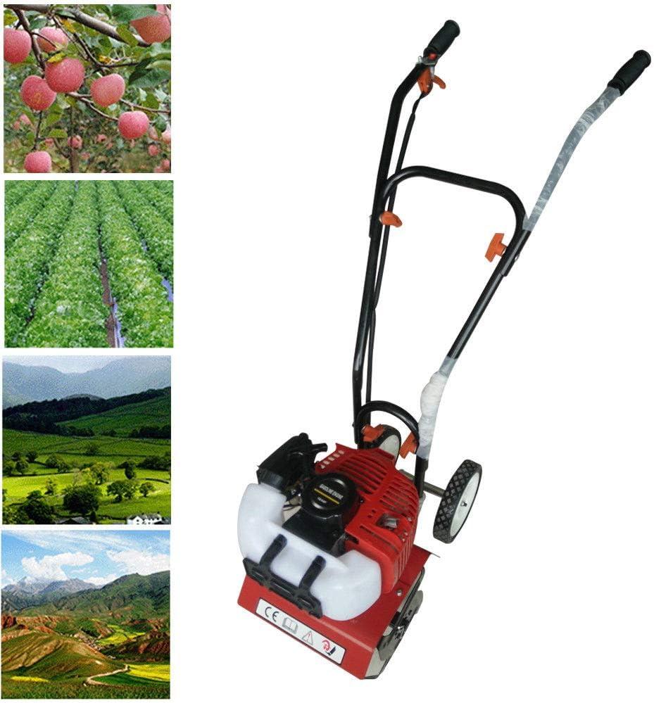 Motoazada de jardín de gasolina de 2 tiempos, 52 cc, fresadora de suelo, cultivadora, fresadora de aire CDI, fresadora de cultivo, motores de repuesto de dos tiempos