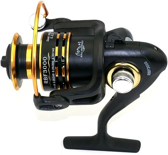 Spinning Carretes de pesca línea de descarga fuerza 500 – 6000 ...
