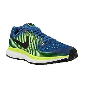 online store 5d627 8f35b Nike - Zoom Pegasus 34 GS - 881953400 - Couleur  Bleu-Jaune-Blanc