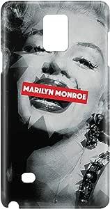 Loud Universe Galaxy Note 5 Marilyn Monroe Print 3D Wrap Around Case - Multi Color