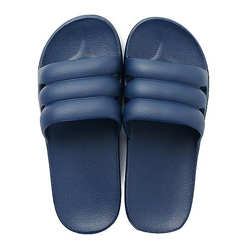 Zapatillas Zapatillas de casa de Verano Zapatillas de Deporte Ligeras de Interior para Hombres Ducha de