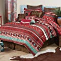BLACK FOREST DECOR Canyon Spice Bed Set - King