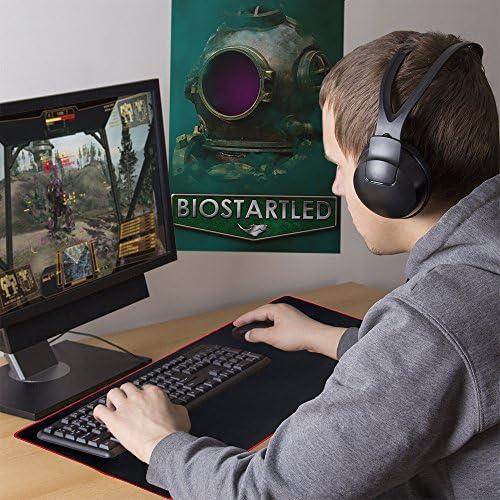 30.5 x 11.5 x 5mm Stratagem Gravitas 5mm Ultrathick Waterproof Gaming Deskpad