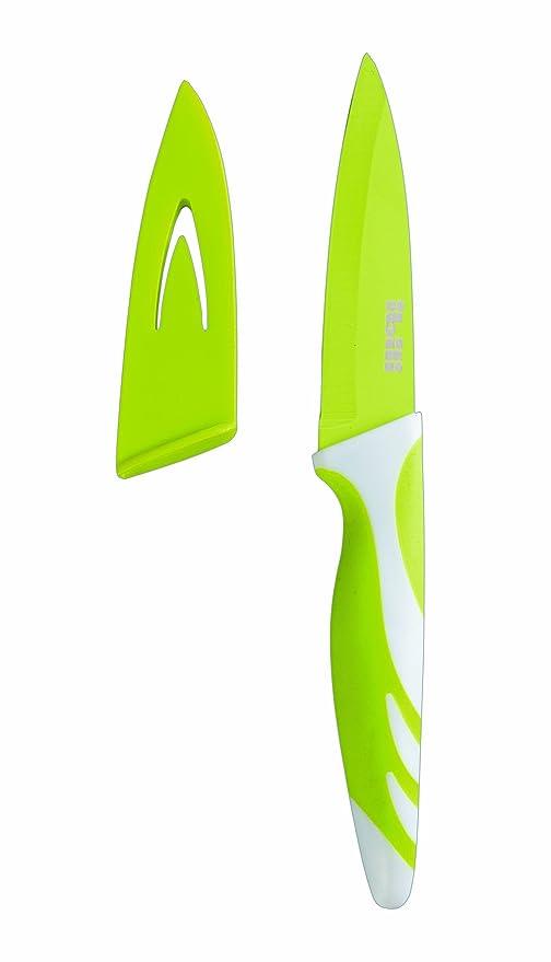 IBILI 727608 - Cuchillo De Cocina Antiad.Verde 8,50 Cm
