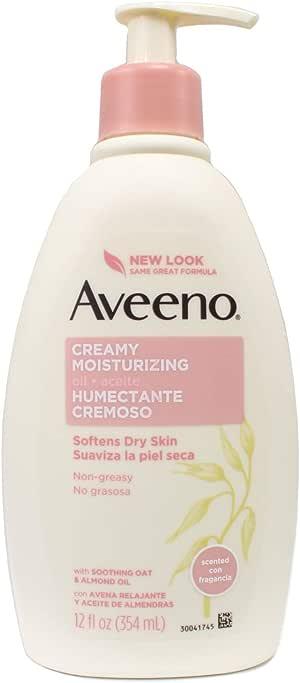 Aveeno Creamy Moisturizing Oil - 12 oz - 2 pk